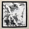 """Kasimir mag Weiß."", 2014, Gips, Acryl und Öl auf Leinwand, 2 x 100 x 100cm"